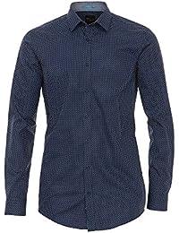 Venti Herren Businesshemd 162546300 Tailliert 100% Baumwolle - Body Fit
