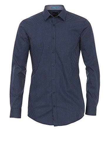 Venti Uomini Camicia per Ufficio 162546300 100% Cotone - Body Fit Blu scuro