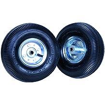 Tec Hit 176002 - Juego de 2 ruedas hinchables de 20 cm para carretilla 175216