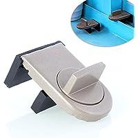 Neuftech Ajustable Bloqueo de Ventanas,Cerradura de Seguridad del bebé para Ventanas y Puertas