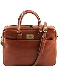 Tuscany Leather - Cartable en cuir - Miel