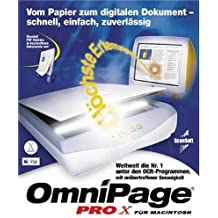 Omnipage 10 Pro for Mac Full version Educational uprgade