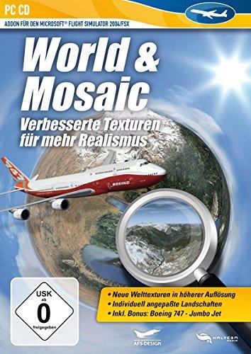 Flight Simulator X - World & Mosaic (Add-On) -