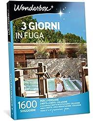 WONDERBOX - Cofanetto Regalo per Coppia - 3 Giorni in Fuga - 1600 SOGGIORNI per 2 Persone