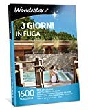 WONDERBOX Cofanetto Regalo - 3 Giorni in Fuga - 1600 SOGGIORNI per 2 Persone