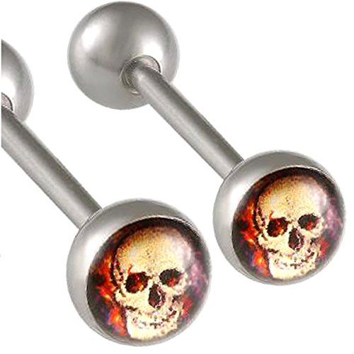 1,6mm 16mm Chirurgischer Edelstahl zungenpiercing Ohr Balken Nippel Gestüt Ring Langhantel body juwelier AALE