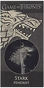 Diverse - Joyería para disfraz, tema Game of Thrones: Stark (XT0085)