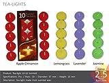 #9: GOYAL® High Quality Scented Tea Light 100% lead free (Assorted Colors) - SET OF 100 Tea Lights