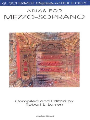 Preisvergleich Produktbild G. Schirmer Opera Anthology - Arias For Mezzo-Soprano (..): Noten für Mezzosopran solo,  Klavier