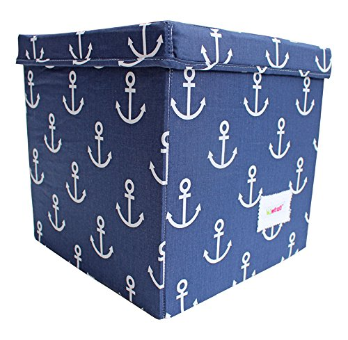 minene-storage-box-cube-with-lid-blue-anchors
