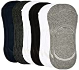 Kuchipoo Premium Loafer Athletic Socks, Set of 6 (Assorted-Colours)
