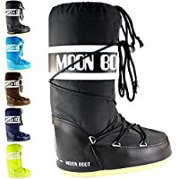 Mens Tecnica Moon Boot Nylon Mid Calf Waterproof Winter Snow Rain Boots