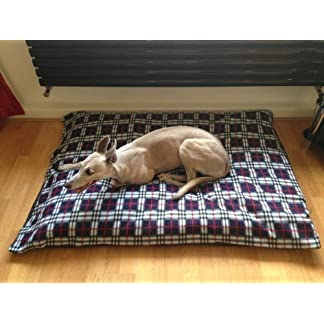 KosiPet NAVY PLAID Fleece EXTRA LARGE SPARE COVER For Dog Bed,Dog Beds,Pet Bed,Dogbed,Dogbeds,Petbed,Petbeds, 14