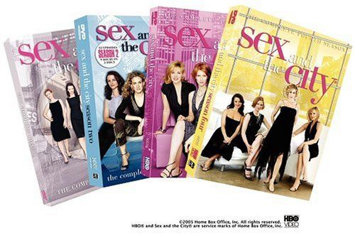 Click for larger image of Sex and the City - The Complete First Four Seasons [DVD] [1999] [Region 1] [US Import] [NTSC]
