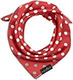 FRAAS Damen Nickituch mit Polkadots Tuch, (Rot 360), One Size