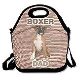 Die besten Boxer Totes - Boxer Dog Dad Father Lunch Bag Tote Handbag Bewertungen
