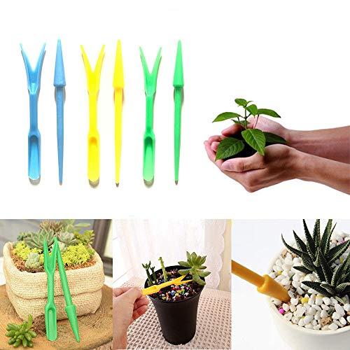 Go Garden Blue : Mover Plant Tools Supplie Outil de repiquage pour pépinières