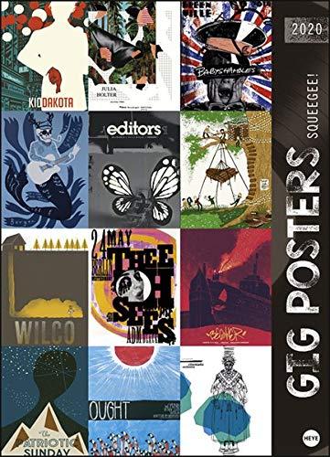 Gig Posters 2020 49x68cm - Kalender Film