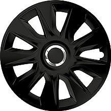 ZentimeX Z744900 Radkappen Radzierblenden universal 14 Zoll Black