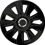 ZentimeX Z744902 Radkappen Radzierblenden universal 16 Zoll black