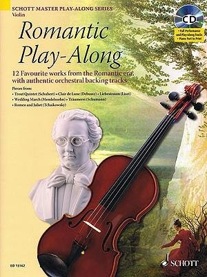 [(Romantic Play-Along for Violin: Twelve Favorite Works from the Romantic Era with a CD of Performa)] [Author: Hal Leonard Publishing Corporation] published on (April, 2010)