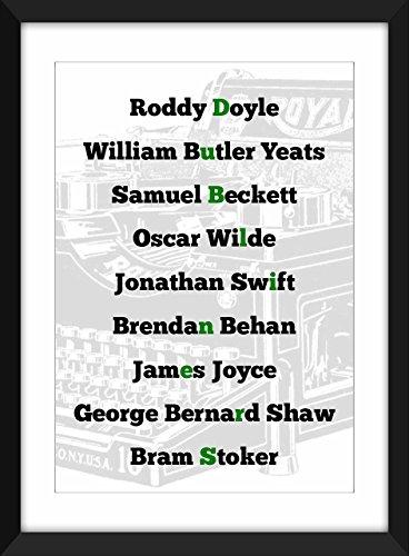 legends-of-irish-literature-typographie-imprimer