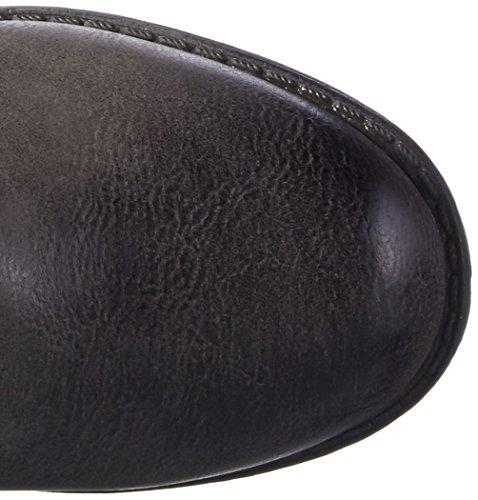 indigo by Clarks Stiefelette, Bottes et bottines à doublure chaude fille Gris - Grau (210 Graphite)