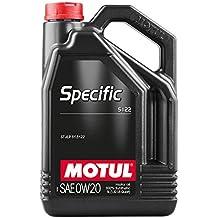 MOTUL - 107339/74 : Aceite lubricante especifico SPECIFIC 5122 0W20 5L
