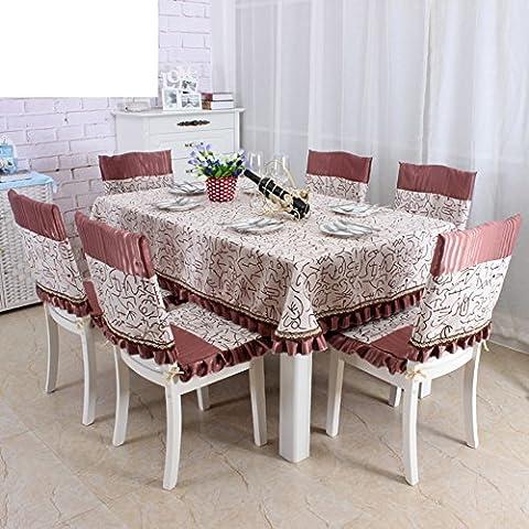 Copertura di tessuto europeo/Copertine per retro tappezzeria sedie