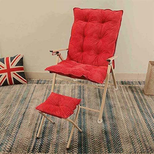 MXRzdya Klappstühle Fauler Stuhl des Studentenwohnheims, faltender Mittagspausen-Sessel aus Aluminiumlegierung, Verstellbarer Bürostuhl für das Arbeitszimmer zu Hause (Color : C)