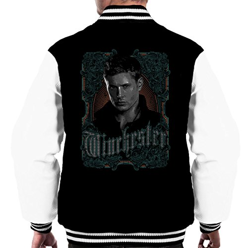 Supernatural Dean Winchester Men's Varsity Jacket (Supernatural Deans Jacke)