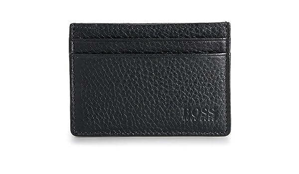 c32bd484de9f6 Hugo BOSS Herren Black Label Mini Leder-Geldbörse