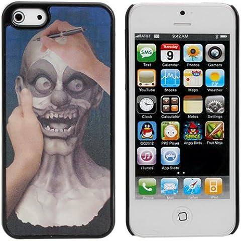 Belleza En Bestia 3D estereoscópica Efecto del patrón para el iPhone 5 5S.