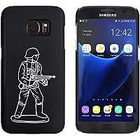 Azeeda Black 'Army Figure' Case/Cover for Samsung Galaxy S7 (MC00170891)