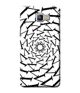 Be Awara V Design Printed Back Case Cover for Samsung Galaxy A9 Pro