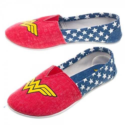 DC Comics Wonder Woman Slip-On Shoes | S