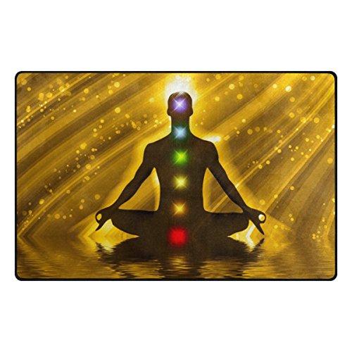 Bennigiry Meditation Kunst Yoga Bereich Teppich Super Soft Polyester Große  Rutschfeste Modern Bad Teppiche Für Schlafzimmer Wohnzimmer Hall Abendessen  Tisch ...