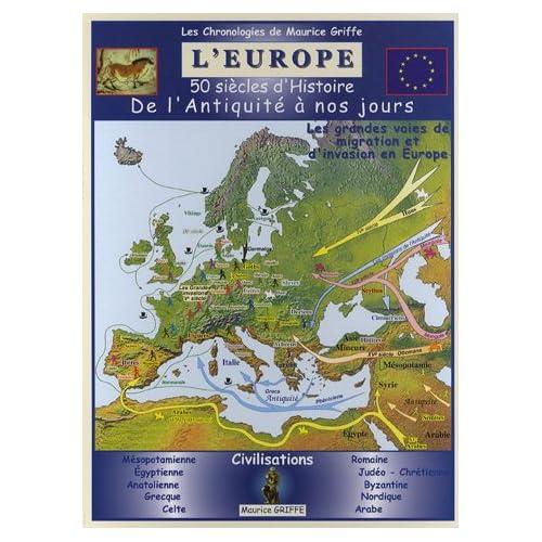 L'Europe : 50 siècles d'Histoire, de l'Antiquité à nos jours