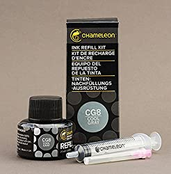 Chameleon Ink Refill 25ml Cool Gray - CG8