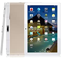 9.6 Zoll 3G Tablet PC,Metall Schale,1G RAM +16G ROM,Dual-SIM,IPS HD Display 1280x800,Quad Core CPU,Android 4.4,WIFI WLAN Bluetooth,3 Farben zur Wahl Gold von QIMAOO