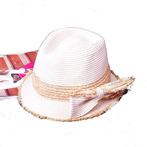 Chapeau de soleil d'été/Chapeaux pliable/Chapeau/Chapeaux à larges bords E