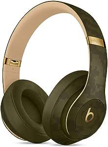 Beats Studio3Wireless Cuffie con cancellazione del rumore – Chip per cuffie AppleW1, Bluetooth di Classe 1, cancellazione attiva del rumore, 22 ore di ascolto–Verde (Foresta)