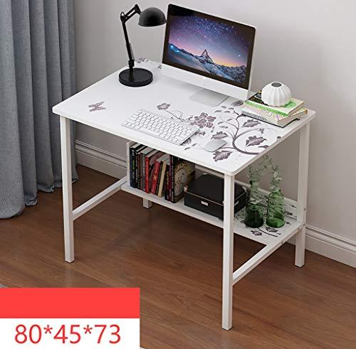 Ywdnza Computertische Computertisch Schreibtisch Tisch einfach IKEA Wirtschaft Schlafzimmer Studentenheim kleine Wohnung Raum einfachen Schreibtisch Computerschränke (Farbe : C)