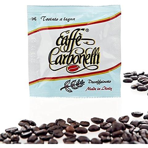 600 cialde ese Caffè Carbonelli miscela decaffeinato - Decaffeinato Espresso Cialde Caso