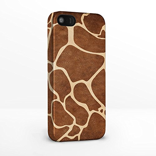 Animal Print Phone Cases für iPhone 5/5S. Animal Fell/Skin Collection – 8 Designs, um aus. Backcover Hartschale für iPhone Modelle aus icasedesigner Giraffe