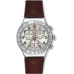 Mens Swatch Destination Roma Chronograph Watch YVS431