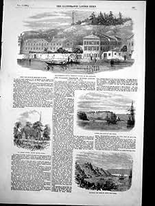 Copie Antique du Câble Submersible Varna 1855 de Bosphorous de Poste de Télégraphe