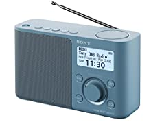 Sony XDR-S61D Radio Portatile FM/DAB/DAB+, Blu