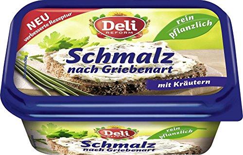 Deli Reform - Pflanzliches Schmalz 'Grieben & Kräuter' - 200 GR