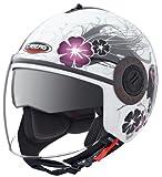 Caberg Riviera V2 + Diva weiss/Silber Motorradhelm
